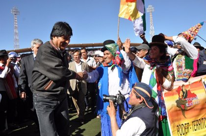Bolivia.-Morales asegura que un millón de bolivianos han dejado de vivir en la pobreza desde que asumió el poder en 2006