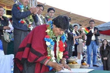 Bolivia.- Morales promulga una ley que reconoce todas las lenguas que se hablan en Bolivia