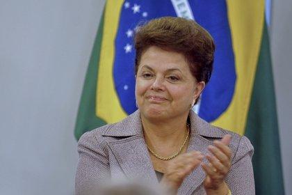 Brasil.- La popularidad de Rousseff sube 5,5 puntos y se ubica en el 75,7%, según un nuevo sondeo