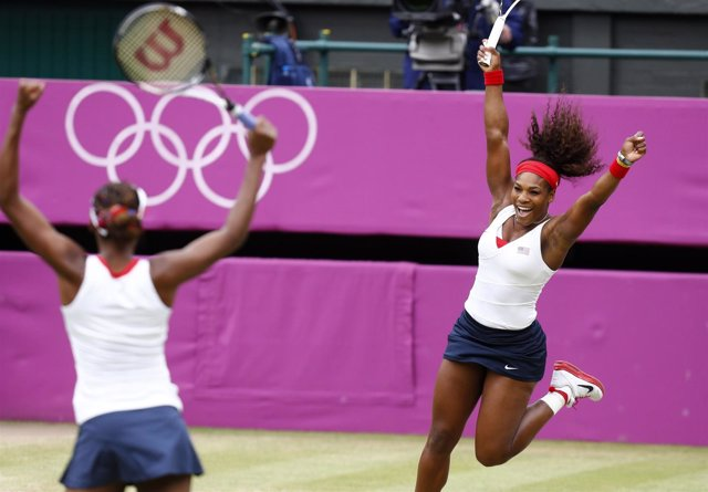 Serena Venus Williams tenis dobles Juegos Olímpicos Londres
