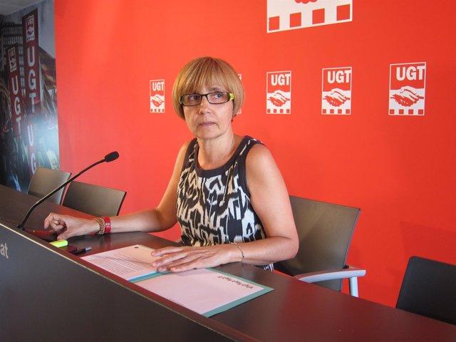 La Secretaria De Análisis E Investigación De UGT De Catalunya, Adela Carrió