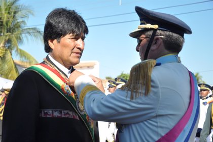 """Bolivia.-Morales quiere unas Fuerzas Armadas """"temidas"""" por EEUU y con una visión contra el capitalismo y el colonialismo"""