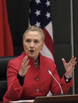La secretaria de Estado de Estados Unidos, Hillary Clinton