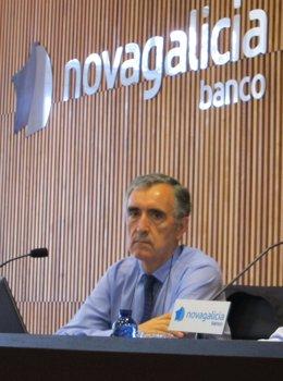 El presidente ejecutivo de Novagalicia Banco, José María Castellano.