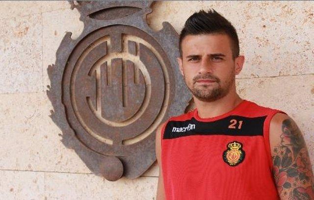 El jugador del Mallorca Javi Márquez