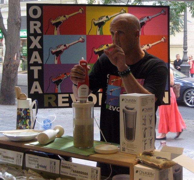 Presentación Del Instrumento De Cocina Chufamix.