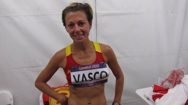 La atleta española María Vasco