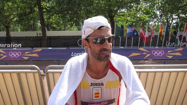 Jesús Ángel García Bragado marcha Juegos Olímpicos