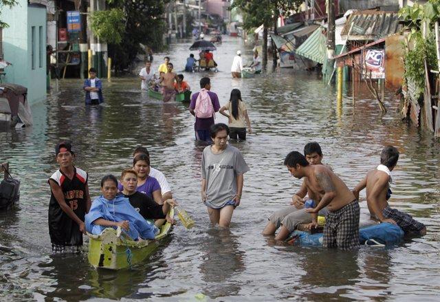 Lluvias en Filipinas, Manila