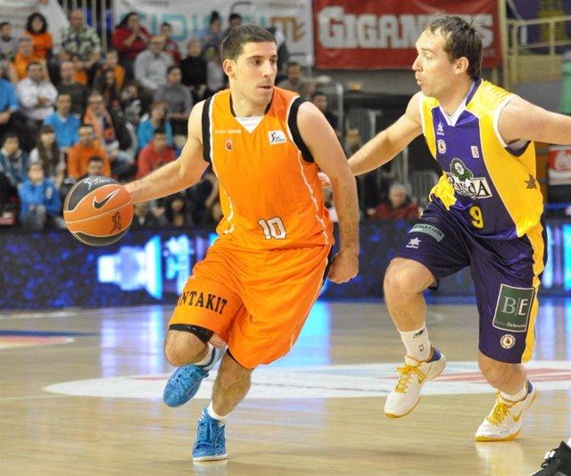 Quino Colom, Baloncesto Fuenlabrada - Blancos De Rueda Valladolid (Baloncesto)