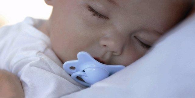 Bebé Dormido, Durmiendo, Niño, Chupete
