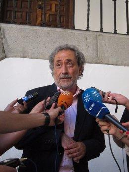 El Defensor Del Pueblo Andaluz, José Chamizo.