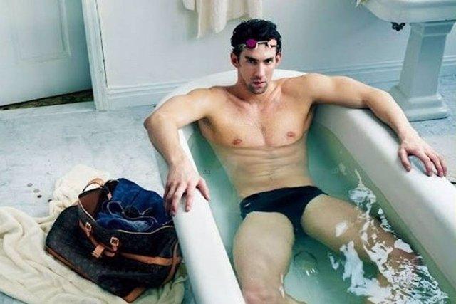 Michael Phelps para Louis Vuiton