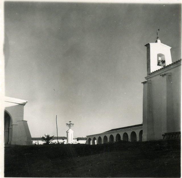 Imagen del poblado minero Herrerías en Huelva.
