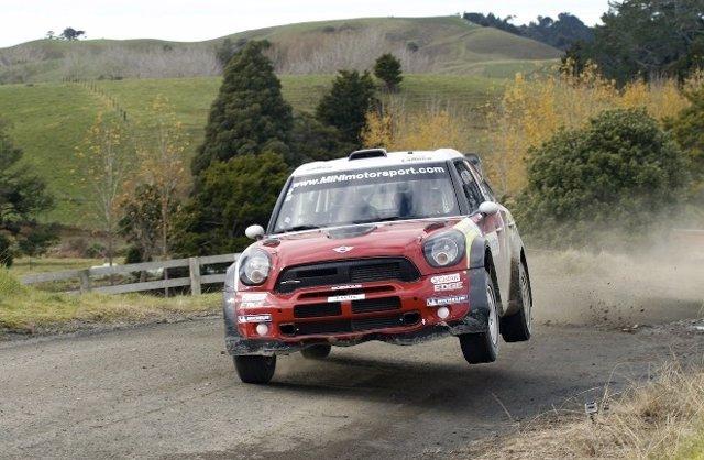 Dani Sordo (Mini) En Nueva Zelanda
