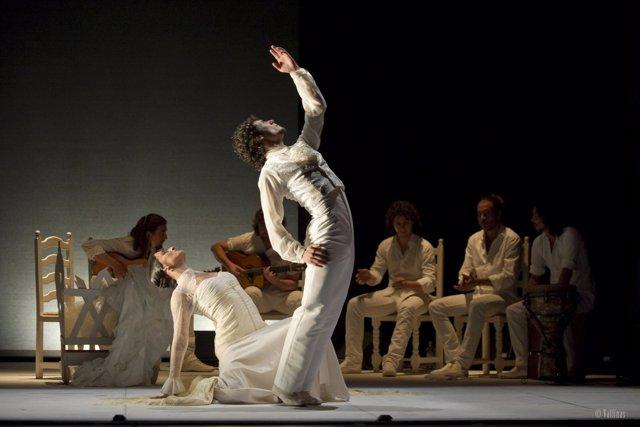 El bailaor catalán Jesús Carmona