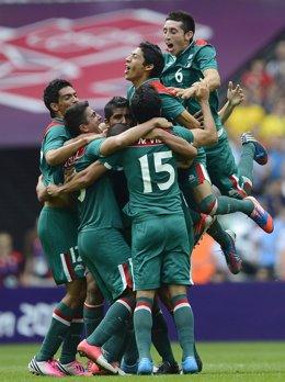México supera a Brasil en la final de los Juegos de Londres