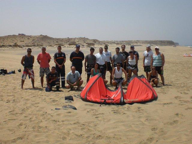 Curso de Kitesurf en Fuerteventura