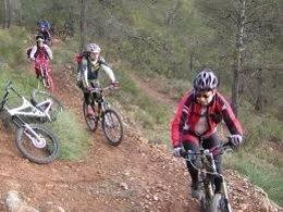 Bici de montaña en Sierra Espuña