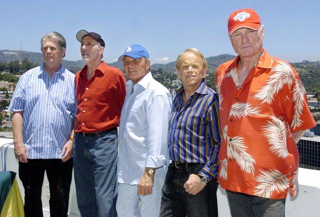 Beach Boys: Brian Wilson, David Marks, Bruce Johnston, Al Jardine Y Mike Love