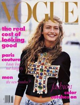 Michaela Bercu, portada Vogue USA