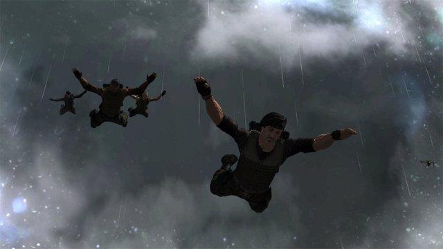 El videojuego de Los Mercenarios 2