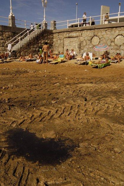 Ecologistas exigen al Ayuntamiento que resuelva los vertidos de aguas fecales en la playa de San Lorenzo