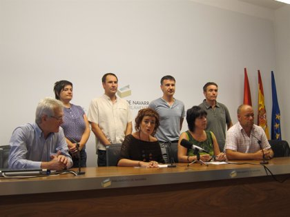 Parlamentarios de Bildu y Aralar de Navarra se encierran en el Parlamento para pedir la excarcelación de Bolinaga