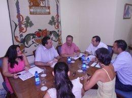 Arrabal se reúne con José Luis Ruiz Espejo