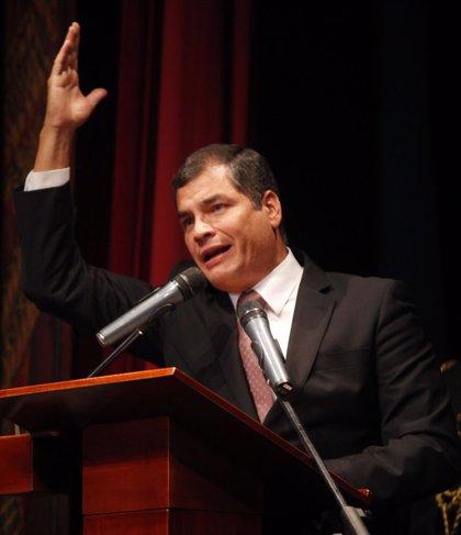 Ecuador.- Correa presentará un proyecto de ley para depurar el Parlamento ecuatoriano