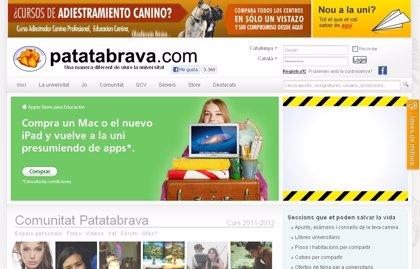 La web interuniversitaria 'Patatabrava' celebra su décimo aniversario con una nueva versión