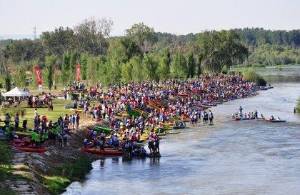 Un total de 700 palistas participarán este domingo en el XV Descenso del Cinca en Piraguas