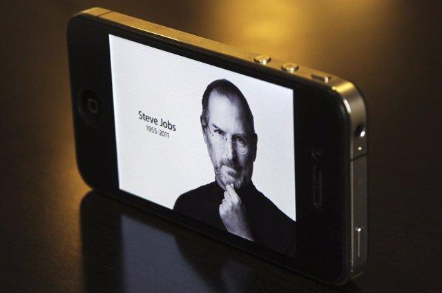 Steve Jobs en el I-phone