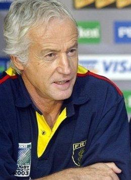Bernard Charreyere entrenador rugby Liceo Francés