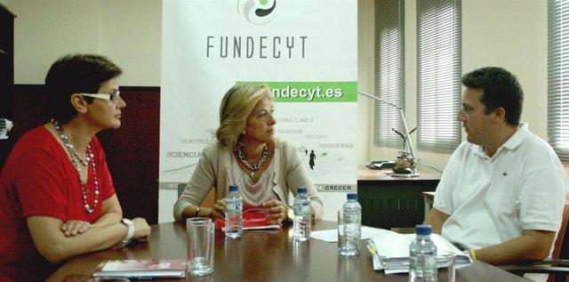 Reunión entre el Sepad y Fundecyt
