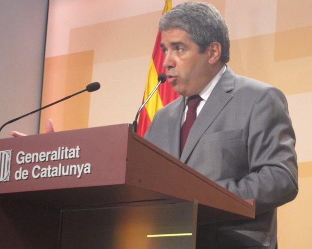 El Portavoz Del Govern, Francesc Homs, En Rueda De Prensa