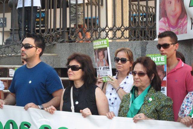 La Madre De Ruth Y José, Ruth Ortiz, En La Concentración De Junio En Huelva.