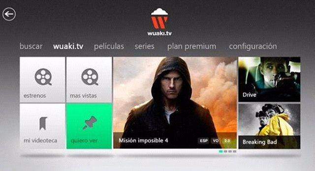 Wuaki.Tv para Xbox Live