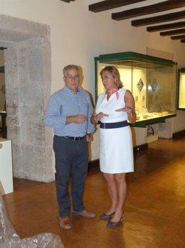 Carmen Pobo en el Museo de Teruel