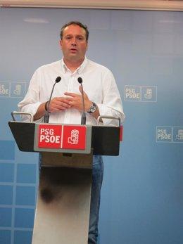 El secretario de Organización del PSdeG y senador, Pablo García