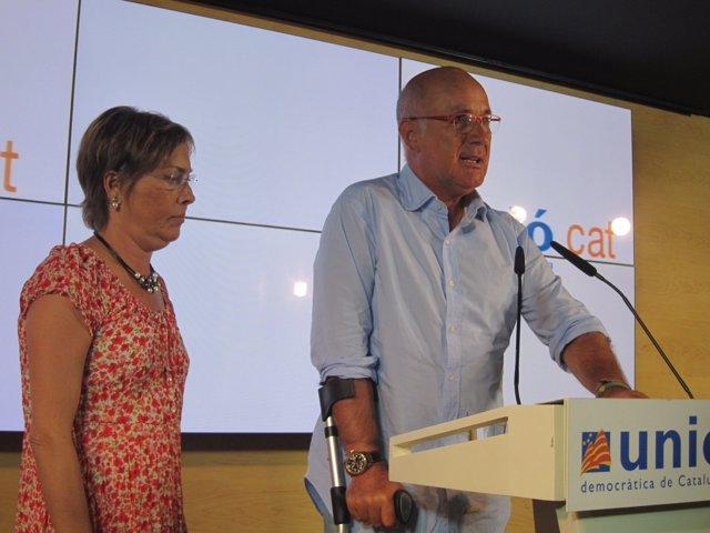 El líder de CiU en el Congreso, Josep Antoni Duran.