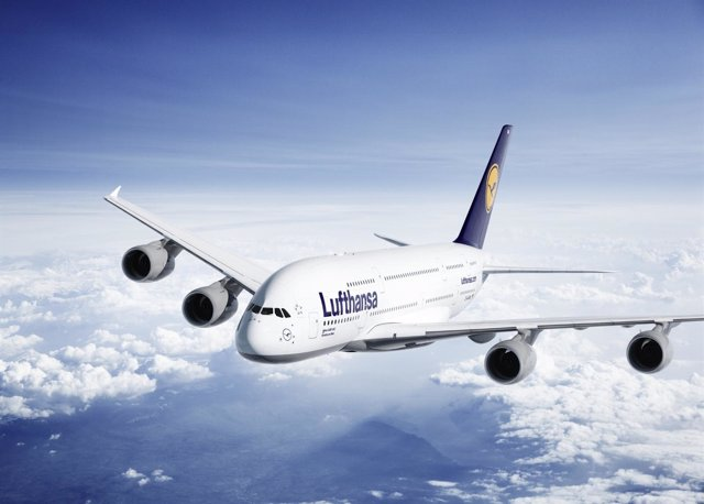 Avión Lufthansa