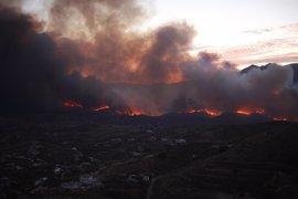 """Incendios.- Griñán dice que """"hay cierta sospecha"""" de que el incendio fue provocado"""