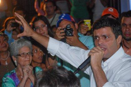 """Leopoldo López: """"El papel del Consejo Electoral en la campaña ha dejado mucho qué desear por su parcialidad"""""""