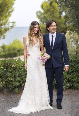 Vanesa Romero y Alberto Caballero se casan