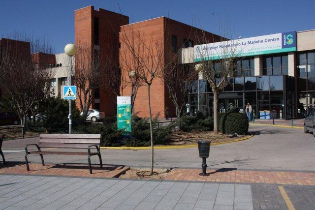 Fachada Hospital De Alcázar De San Juan