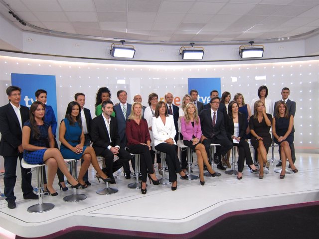 Presentadores de TVE