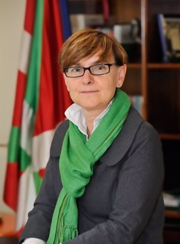 La consejera de empleo y asuntos sociales del gobierno vasco, gemma zabaleta