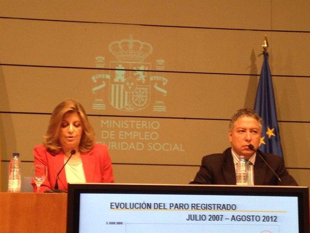Engracia Hidalgo y Tomás Burgos