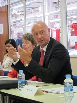 Josef Schelchshorn, vicepresidente de Recursos Humanos de Seat